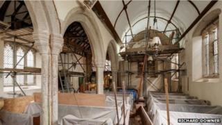 Repairs to the church
