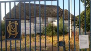 Lakenham cricket ground pavilion