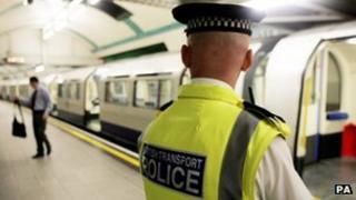 British Transport Police officer