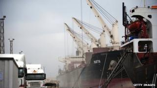 Mozambique port