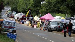 Protests at Balcombe