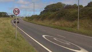 Helston relief road, Cornwall, August 2013