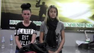 Michaella McCollum Connolly and Melissa Reid