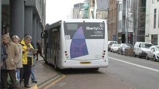 Liberty Bus in Jersey