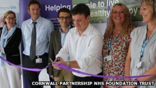 Launch of the perinatal service