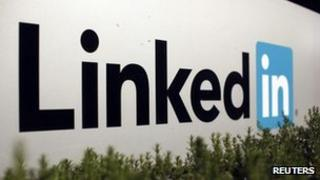 The LinkedIn logo outside the company's headquarters in Mountain View, California 6 February 2013