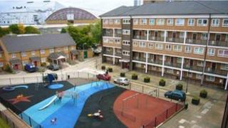 Gibbs Green Estate, Dieppe Close and Earls Court