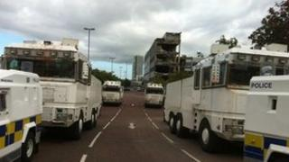 Security operation in Belfast