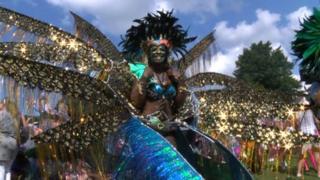 Carnival dancer 2013