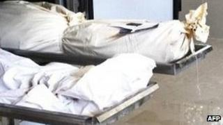 Bodies of contractors killed in Herat