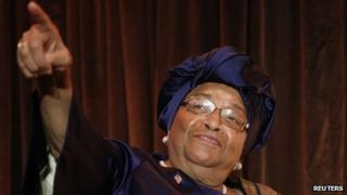 Ellen Johnson Sirleaf (17 May 2013)