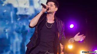 The Script at the V Festival
