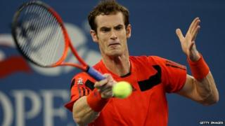 Andy Murray at the US Open