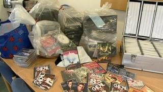 Counterfeit goods seized in Penryn