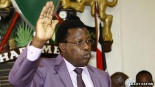 Kenya's police commission chairman Johnston Kavuludi (file photo)