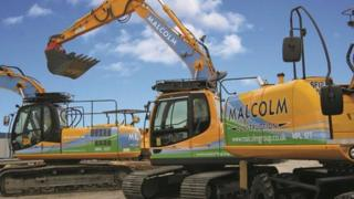Malcolm Group digger