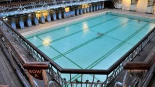 Victoria Baths pool