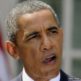 President Barack Obama makes a statement on Syria. Photo: 31 August 2013