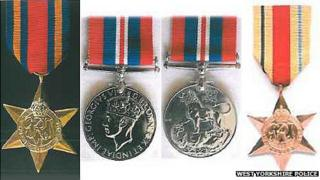 Burma Star, War Medal, African Star