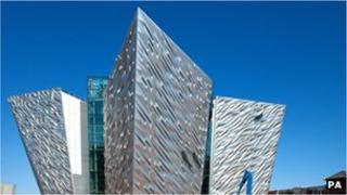 The focal point of the Titanic Quarter is the visitors' centre