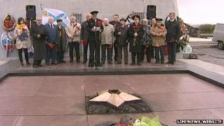 Ceremony marking the 68th anniversary of the end of the Second World War