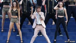 Cliff Richard in 2012