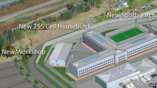 Artist's impression of some of the new facilities
