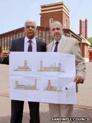 Councillors show plans for Rowley Regis crematorium