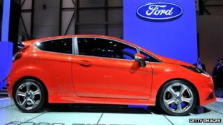 Ford Fiesta at Geneva Motor Show
