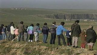Nine children were removed from four families in 1991 after allegations of abuse on South Ronaldsay