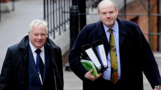 Lord Patten and Mark Thompson