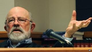 Undated photo of District Judge Todd Baugh