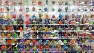 Moshi Monsters display