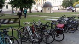 UCL bikes
