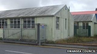 Ysgol Gynradd Gymraeg Lon Las in its current state