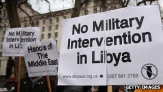 Anti-war protest in 2011