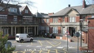 Caerphilly Miners Hospital