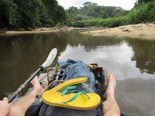 Will Millard's view of the Mano river in Liberia
