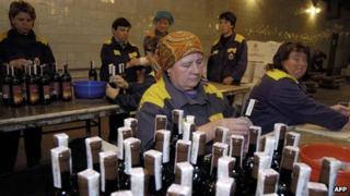 Winery in Milestii Mici, Moldova - file pic