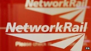 Network Rail sign