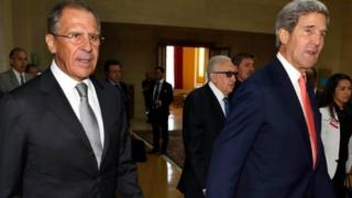 US-Russian talks about Syria