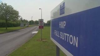 Full Sutton prison entrance