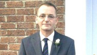 Andrew Lorimer was found dead in his flat in Lurgan
