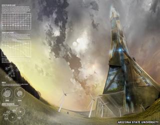 Tall Tower concept art