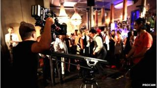 Procam filming episode of Made in Chelsea