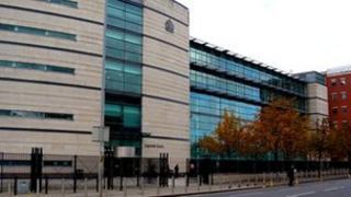Laganside court complex in Belfast