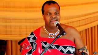 King Mswati (file photo)