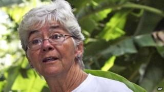 American nun Dorothy Stang was shot six times over a land dispute.