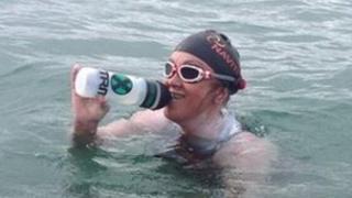 Anna Wardley IoW swim