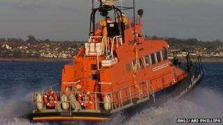 Lifeboat at Barry